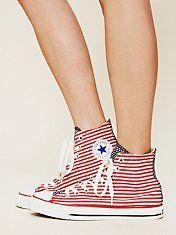 Americana Converse #flag #trend #summer #july