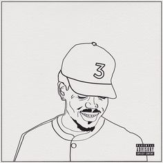 For Chance the Rapper #chance #crayonart #art ~My Coloring Book ...