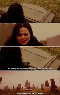 """You were my first love, Daniel. I just needed to know that you're okay"" - Regina Mills #OnceUponATime"
