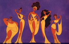 the muses...diff, goddess like dresses, not like these lol, but the basic idea