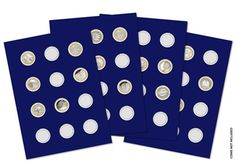 Prestige £2 Collector Pages (Pack of 4) #ChangeChecker