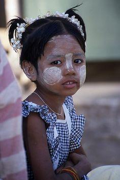Crème solaire birmane