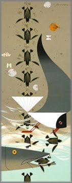 Purchase Charley Harper - Perilous Passage at Gallery One