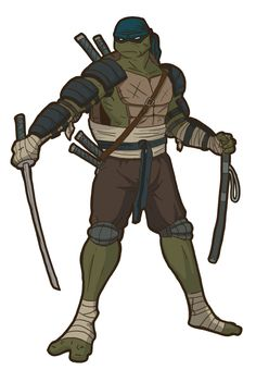 After seeing the official designs of the Turtles in the new movie, your rendition of Leo isn't too far off from what they went with. Description from joshuadunlop.deviantart.com. I searched for this on bing.com/images