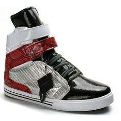 5ffd498c22e9 Supra Shoes 2012 Tk Society Mid Red Black White Tuf Men Shoes Cheap Jordan