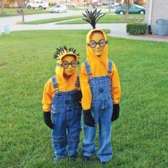 Ah! Comme les enfants auront du plaisir à revoir en photoleur costume le plus ingénieux fabriqué de vos mains!Allez, hop! Faites appel à votre imagination pour créerun déguisement original!