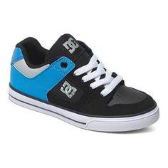 Boys' DC Shoes Pure /Bright Royal