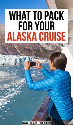 What To Pack For Your Alaska Cruise including jackets, shoes, pants, formal, camera gear and Packing For Alaska, Packing List For Cruise, Vacation Packing, Alaska Travel, Alaska Cruise, Cruise Travel, Travel Usa, Packing Lists, Travel Tips