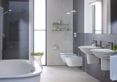 Darling New is the evolution of a Duravit classic. The new range offers harmonious circular forms, an exquisite shape and a broad choice of bathroom furniture and ceramic sanitaryware. http://www.cphart.co.uk/view-our-brochures/ #bathrooms #bathroomideas #bathroominspiration