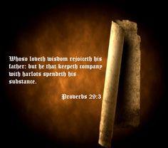 Proverbs 29:3