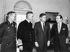 JFK Meets with the Earl Mountbatten - 6 February 1963