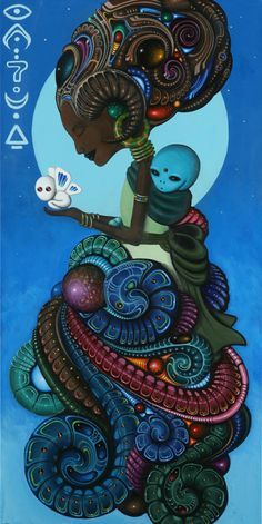 FEATURE: Sci-fi meets Folklore - The work of visual artist Paul Lewin - AFROPUNK