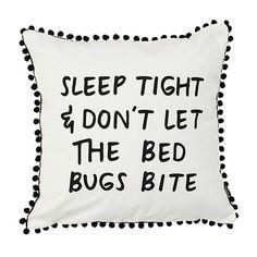 Kussenhoes Sleep tight..