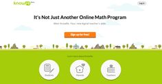 The Ed Tech Catalog // 64. KnowRe is an online adaptive math learning program that personalizes a fun, engaging curriculum to students' individual needs. #edu #edtech #education #knowre @KnowRe
