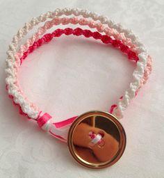 Craft Geek: 3 Strand Ombre Bracelet #bracelet #diy #craft #jewelry #ribbon
