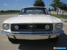 1968 Ford Mustang GT Coupe #ford #mustang #forsale #unitedstates