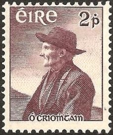 Tomas O'Crohan  [1865 - 1937] was born on the Great Blasket Island in Ireland. A  great master of his native Irish. He shared to the full the perilous life of a primitive community, yet possessed a shrewd and humorous detachment that enabled him to observe and describe the world. His book is a valuable description of a now vanished way of life.