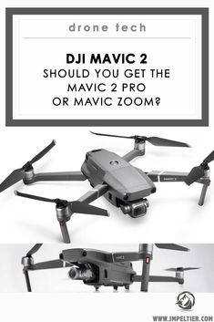 DJI's newest travel drones have some amazing - but different - capabilities. What's the difference between the Mavic 2 Pro vs Zoom, and which is better? Gopro Drone, New Drone, Drone Quadcopter, Drone Technology, Technology World, Small Drones, Mavic, Drone Photography, Street Photography