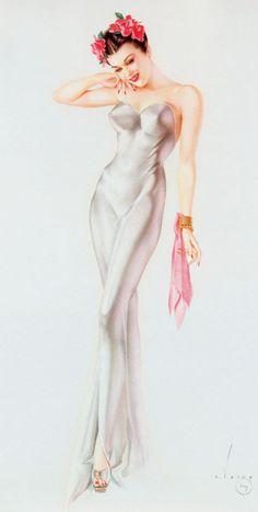 Vargas Pin Up Girl #design #style #Vargas