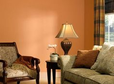 Wall Colors We Love for the Living Room: Warm, Glowing Living Room Colors