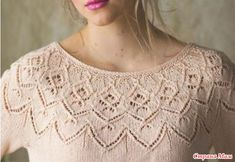 Easy Knitting Patterns for Beginners - How to Get Started Quickly? Summer Knitting, Easy Knitting, Knitting For Beginners, Lace Knitting Patterns, Knitting Stitches, Knitting Designs, Crochet Clothes, Pulls, Knit Crochet