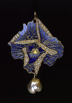 Art Nouveau. René Lalique. 1900 Brooch