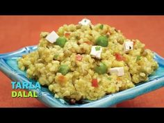 Vitamin Khichdi (Protein, Iron and Calcium Rich) by Tarla Dalal Vegetarian Types, Vegetarian Recipes, Healthy Recipes, Healthy Foods, Rice Recipes, Indian Food Recipes, Ethnic Recipes, Protein Rich Foods, Protein Lunch