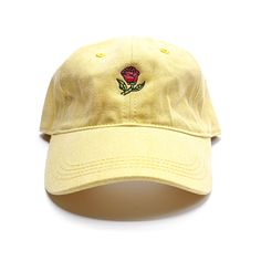 54d91214ee4 A hat as old as time. • Embroidered on cap • 100% Cotton unstructured