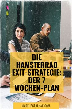 Die Hamsterrad Exit-Strategie ist ein Schritt-für-Schritt Online Programm, darauf ausgerichtet, dich deinem eigenen Traumbusiness näher zu bringen, indem es dir genau die Informationen liefert, die du brauchst. Ein erfolgserprobter, fast idiotensicherer Plan, um dich aus dem Hamsterrad zu holen und deinem 9-to-5 Job endlich den Rücken zu kehren (in nur 7 Wochen, wenn du das möchtest).