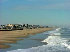 Sandbridge Beach, Virginia is the place we like to go body surfing and enjoying the ocean.