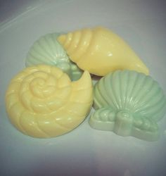 Check out this item in my Etsy shop https://www.etsy.com/listing/204258591/seashell-shea-butter-soap-bars-made-with