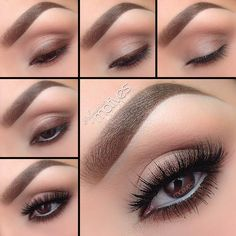 Eye Makeup Tips.Smokey Eye Makeup Tips - For a Catchy and Impressive Look Eye Makeup Steps, Simple Eye Makeup, Natural Eye Makeup, Smokey Eye Makeup, Eyeshadow Makeup, Makeup Tips, Makeup Ideas, Makeup Tutorials, Simple Eyeshadow