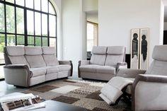 MORMONT - un salon bicolore de toute beauté, stylé et acceuillant  | Meubles Nikelly