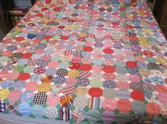 HOLIDAY SALE Antique Gorgeous Patchwork Quilt by ShaneLilyRain