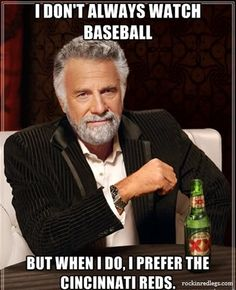 I watch baseball all the time, but I thought this was funny! Lol