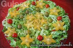 Receita de Salada de Acelga com Carambola