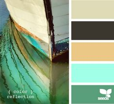 This color scheme is just yummy.  I wish I could do a complete reno in my  living room with these colors.