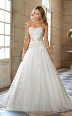 2014 New white/ivory wedding dress custom size 2-4-6-8-10-12-14-16-18-20-22+++ #Handmade