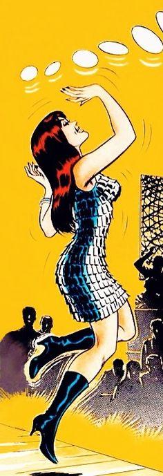 Mary Jane Watson - art by John Romita (1968)