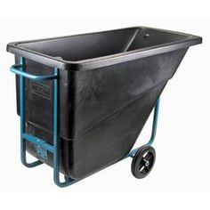 Tilt Trucks:Quiet, one-man handling, moving & dumping of wet or dry materials, food or waste. Removable hinged lids available to meet sanitary requirements. Wheelbarrow, Wet And Dry, Tilt, Trucks, Cleaning, Easy, Food, Products, Truck