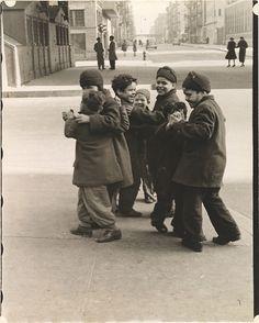 Thanksgiving, Boys Dancing, New York, 1942    photo by Helen Levitt