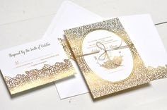 Featured Invitation Design: Merriment Suite by Smitten on Paper | WeddingLovely Blog