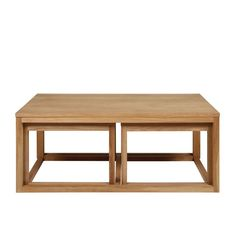 I'm shopping Oak 'Tokyo' coffee table set in the Debenhams iPhone app.
