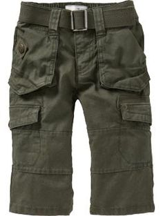Casual cargo pants. Stores: old navy, gap, oshkosh, crazy 8's Size: 12 months