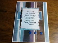 Pastor Appreciation Day card --- like the words