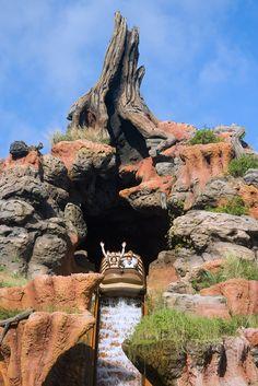 Splash Mountain #Disneyland Los Angeles, California, USA