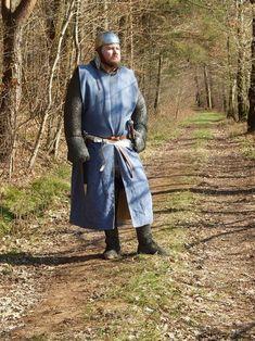 Franse ridder gebaseerd op afbeeldingen uit de Maciejowski bijbel. CA 1200-1220