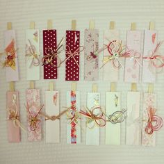 wedding ideas - an envelope for presenting a gift of money change to chopstick wrapper