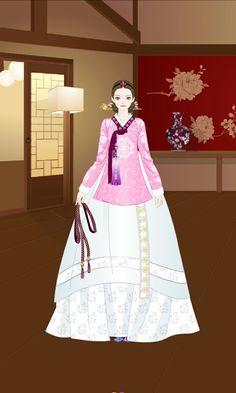 Korean Hanbok, Korean Dress, Korean Traditional Dress, Traditional Dresses, Anime Korea, Korea Wallpaper, Learn Korean, Arts And Crafts Supplies, Headdress