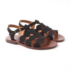 Little Fashion Gallery loves GALLUCCI Nubuck Sandals #littlefashiongallery